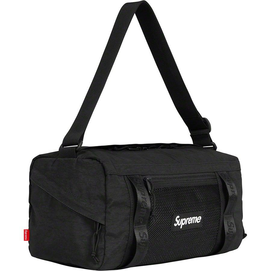 Supreme Duffle Bag (Black) | Waves Never Die | Supreme | Bag
