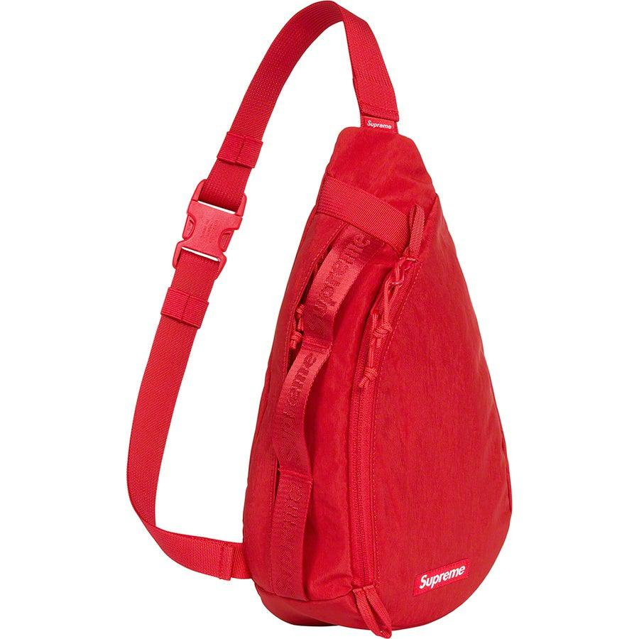 Supreme Sling Bag (Red) | Waves Never Die | Supreme | Bag