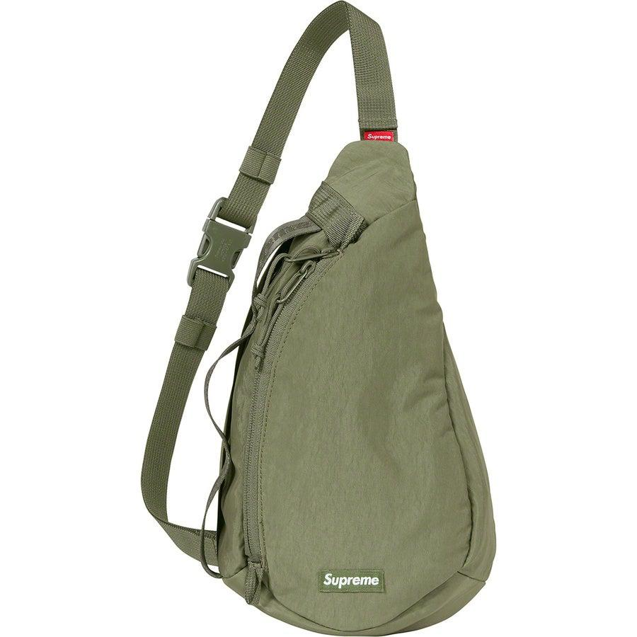 Supreme Sling Bag (Olive) | Waves Never Die | Supreme | Bag