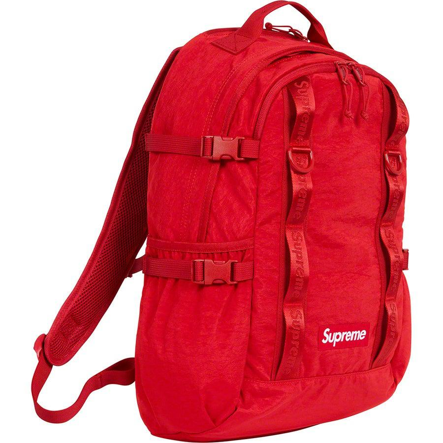 Supreme Backpack (Red) | Waves Never Die | Supreme | Bag