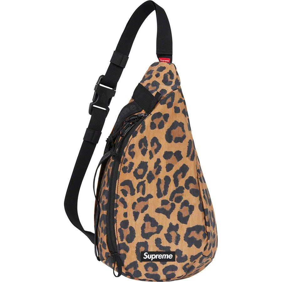 Supreme Sling Bag (Leopard) | Waves Never Die | Supreme | Bag