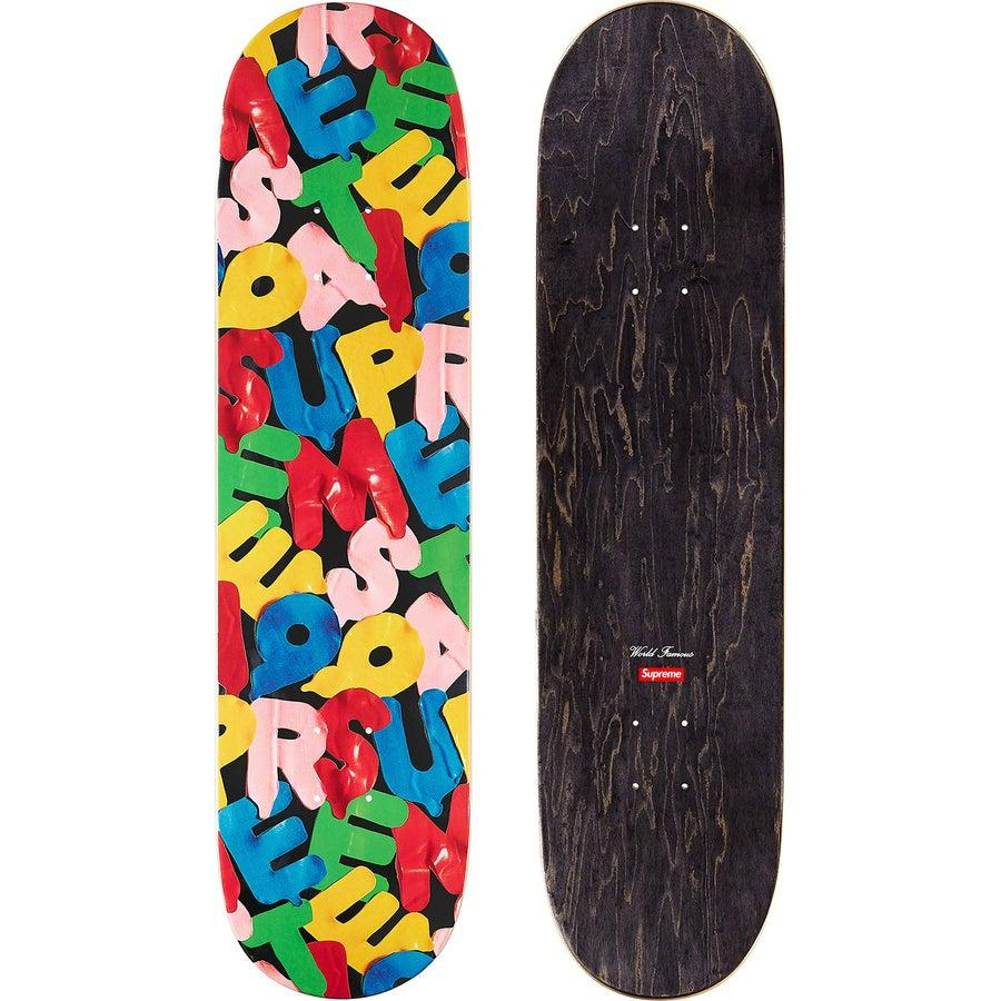 Supreme Balloons Skate Deck (Black) | Waves Never Die | Supreme | Accessories