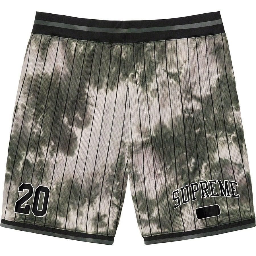 Supreme Dyed Basketball Short (Black) | Waves Never Die | Supreme | Shorts
