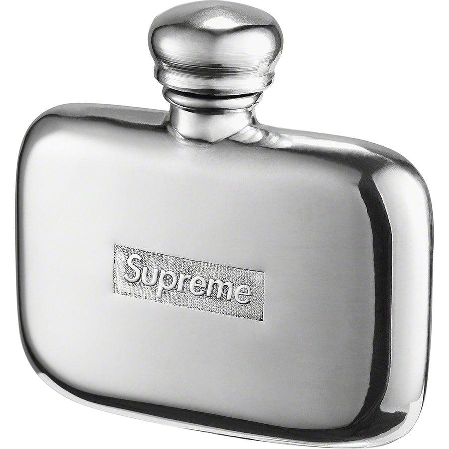 Supreme Pewter Mini Flask | Waves Never Die | Supreme | Accessories