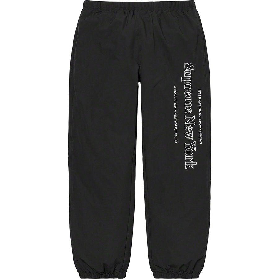 Supreme Side Logo Track Pant (Black) | Waves Never Die | Supreme | Pants