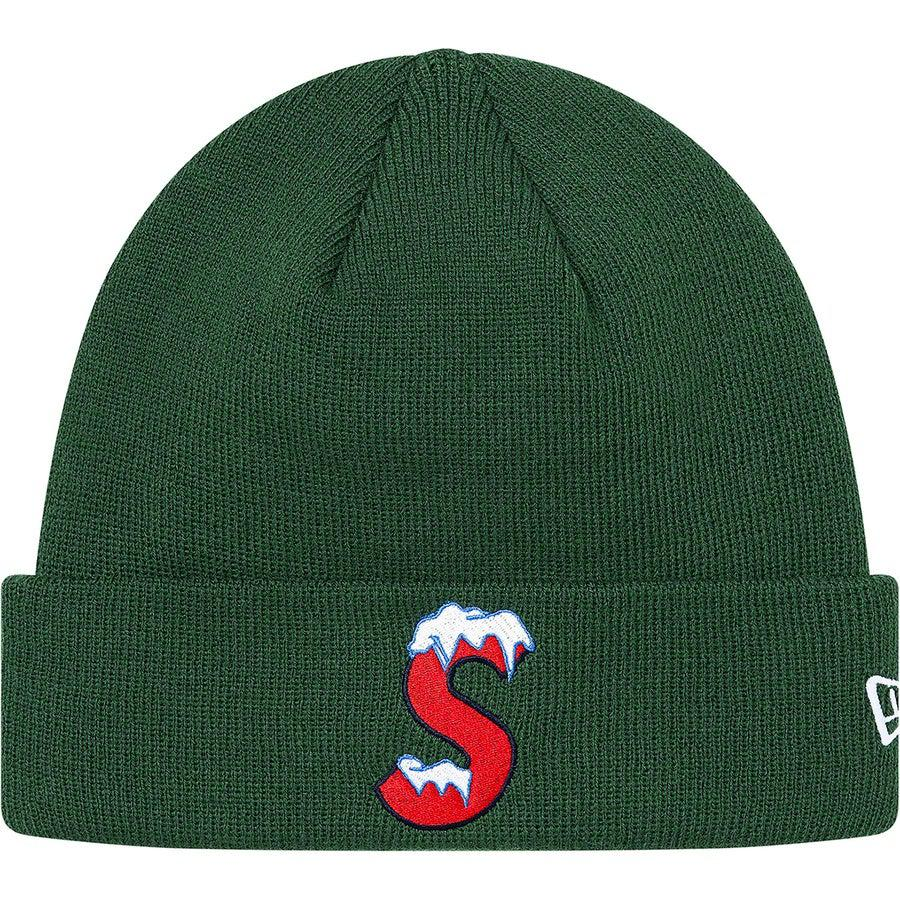 Supreme New Era® S Logo Beanie (Green) | Waves Never Die | Supreme | Beanie