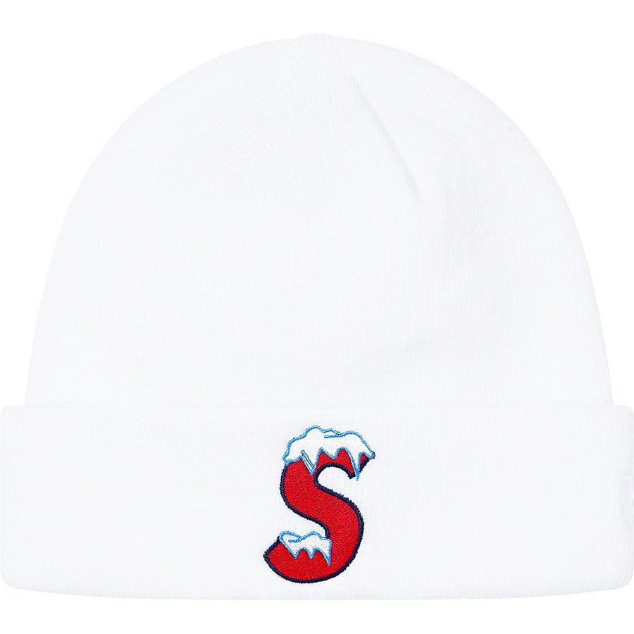 Supreme New Era® S Logo Beanie (White) | Waves Never Die | Supreme | Beanie