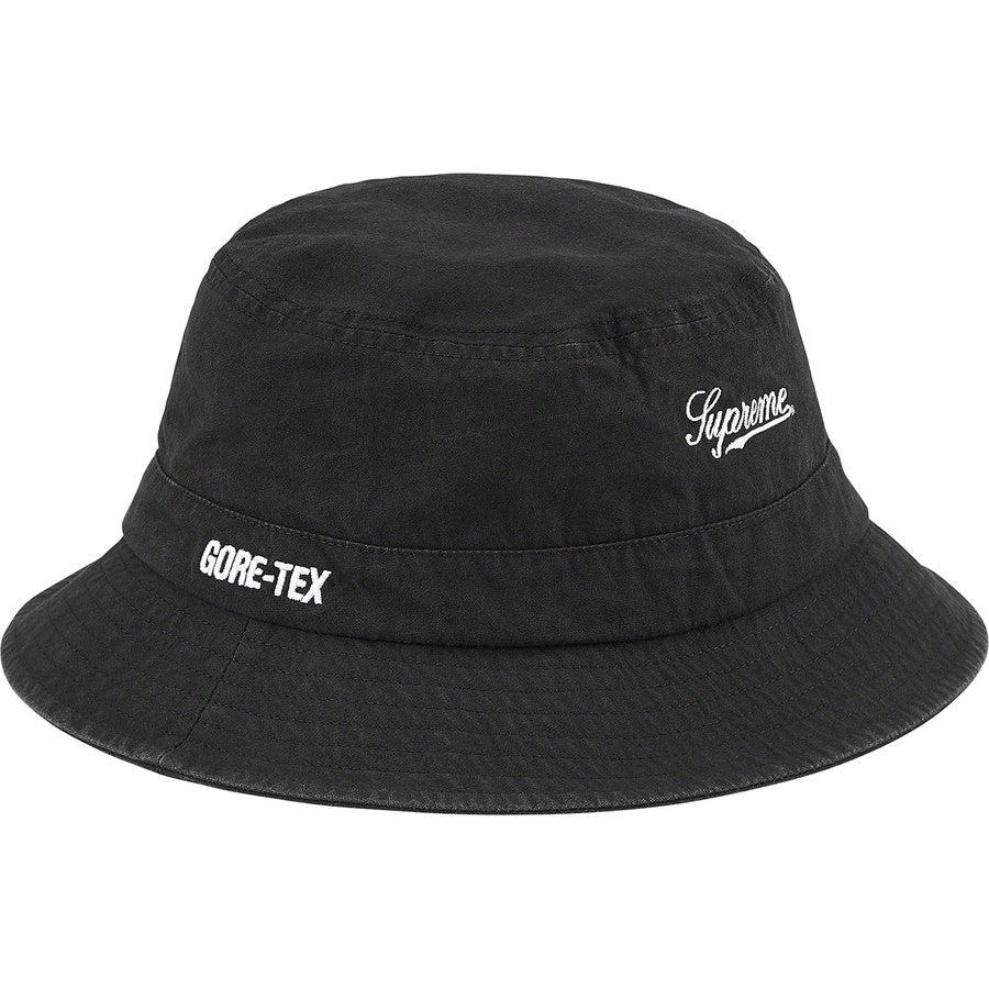 Supreme GORE-TEX Crusher (Black) | Waves Never Die | Supreme | Cap
