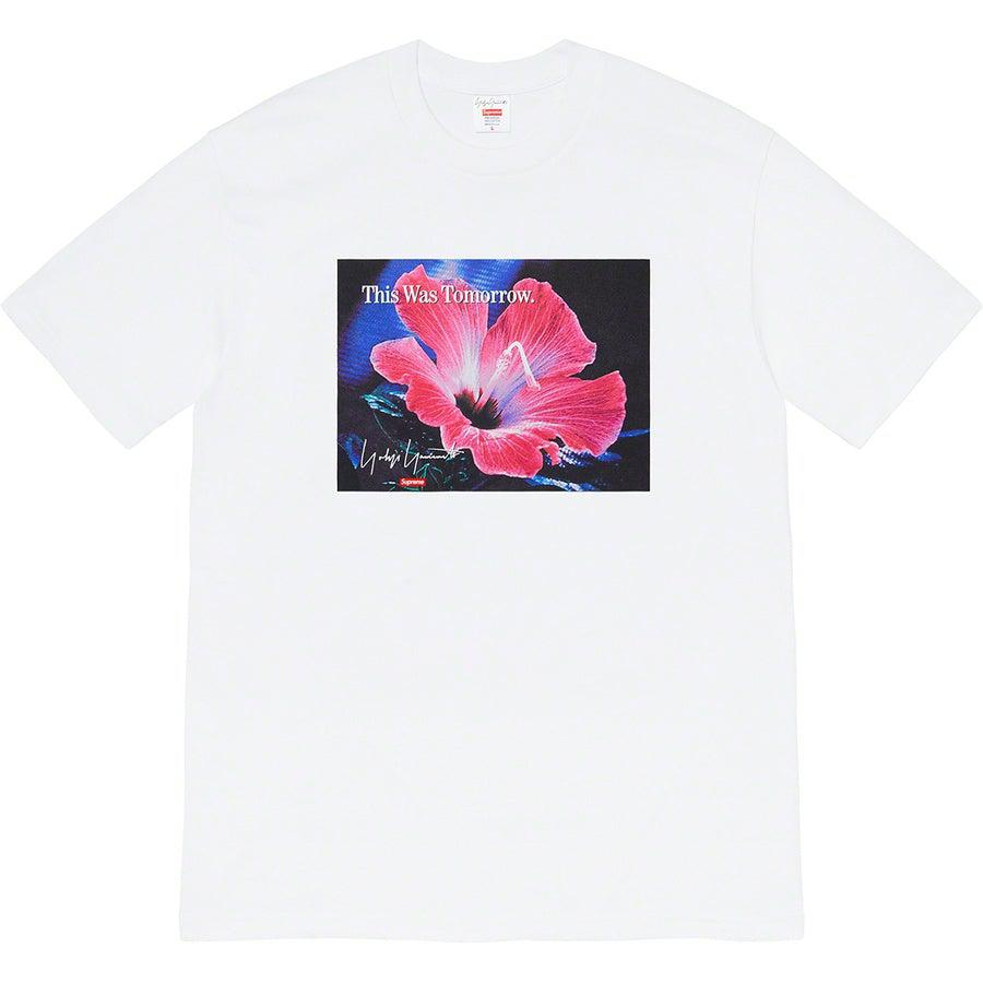 Supreme®/ Yohji Yamamoto®This Was Tomorrow Tee (White) | Waves Never Die | Supreme | T-Shirt