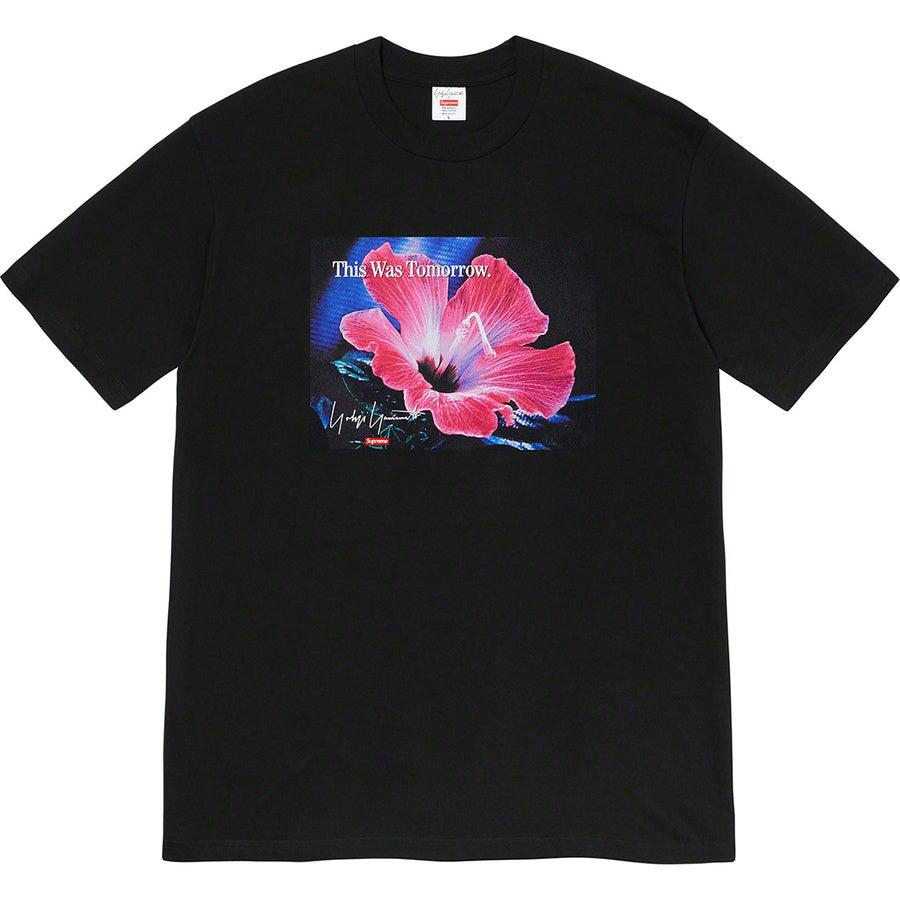 Supreme®/ Yohji Yamamoto®This Was Tomorrow Tee (Black) | Waves Never Die | Supreme | T-Shirt