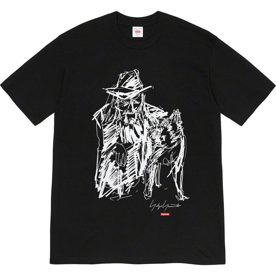 Supreme®/ Yohji Yamamoto®Scribble Portrait Tee (Black) | Waves Never Die | Supreme | T-Shirt