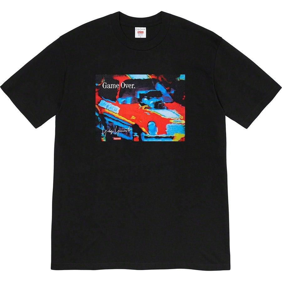 Supreme®/ Yohji Yamamoto®Game Over Tee (Black) | Waves Never Die | Supreme | T-Shirt