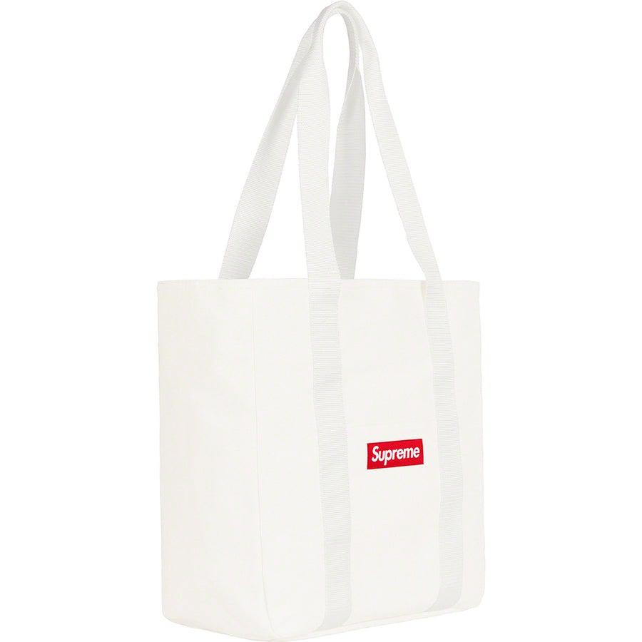 Supreme Canvas Tote (White) | Waves Never Die | Supreme | Bag