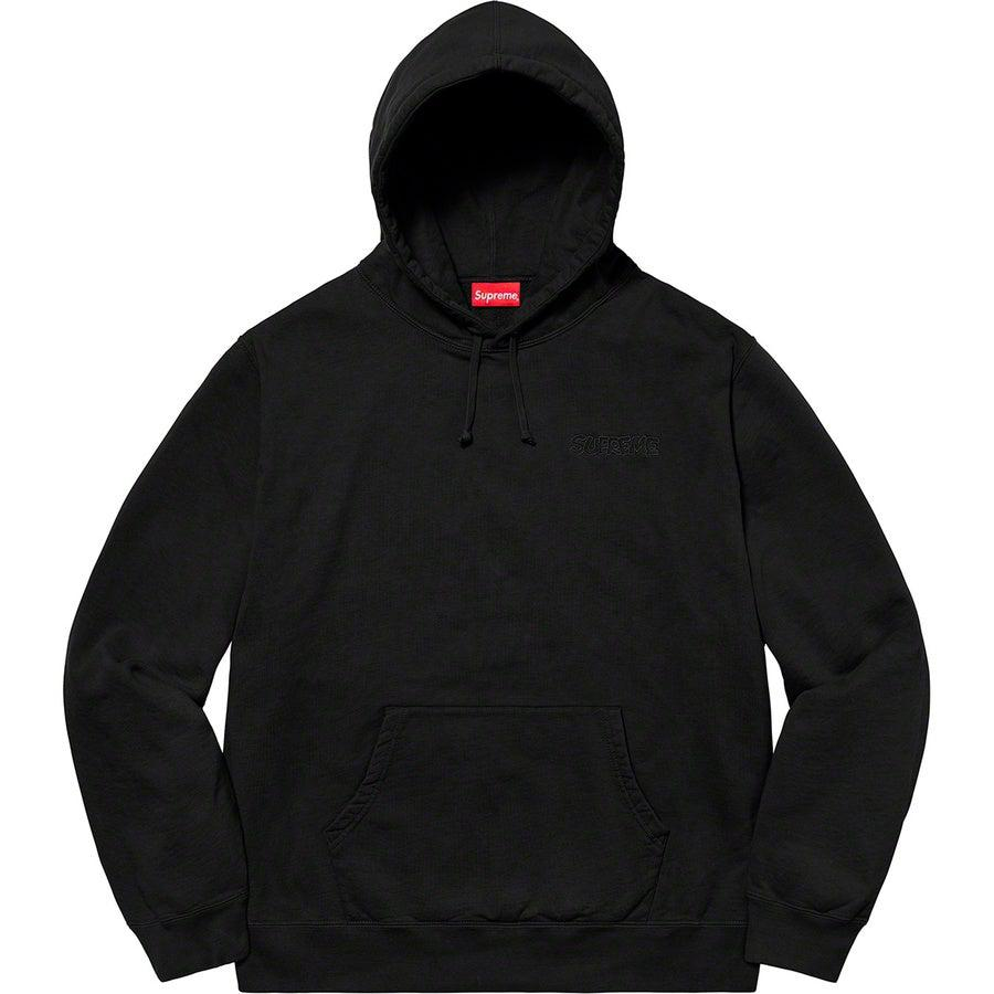 Supreme®/ Smurfs™ Hooded Sweatshirt (Black) | Waves Never Die | Supreme | Hoodie