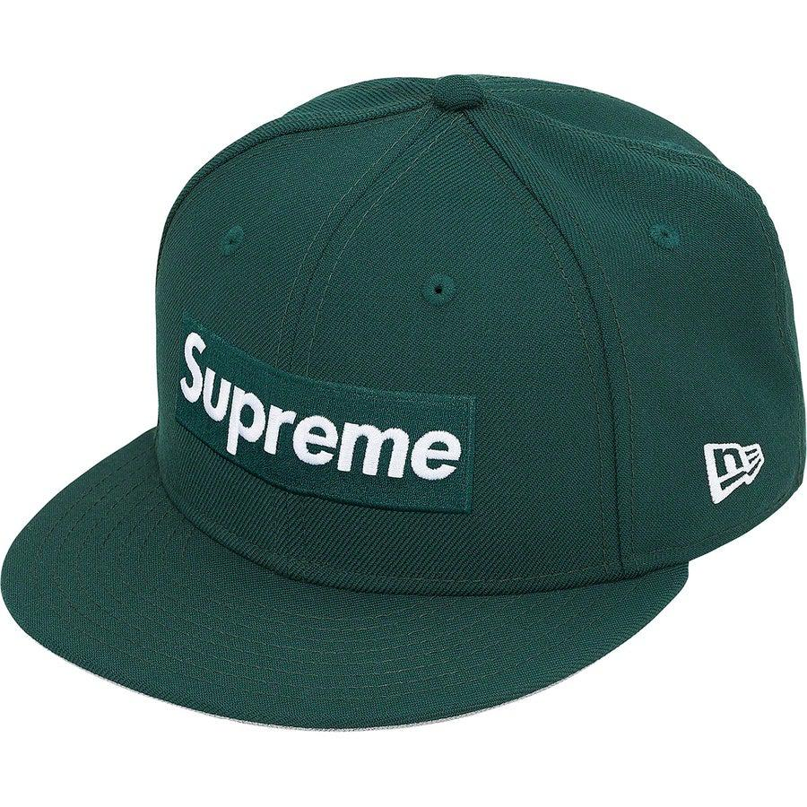 Supreme World Famous Box Logo New Era® (Green) | Waves Never Die | Supreme | Cap