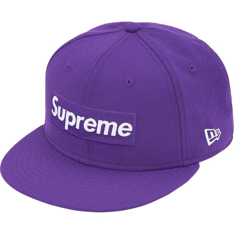 Supreme World Famous Box Logo New Era® (Purple) | Waves Never Die | Supreme | Cap