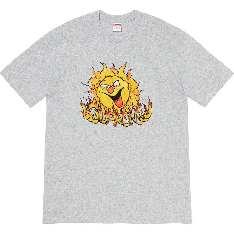 Supreme Sun Tee (Grey) | Waves Never Die | Supreme | T-Shirt
