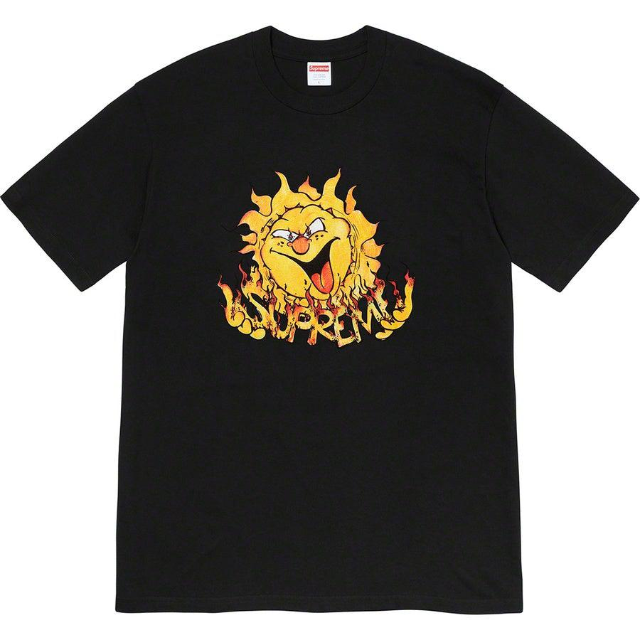 Supreme Sun Tee (Black) | Waves Never Die | Supreme | T-Shirt