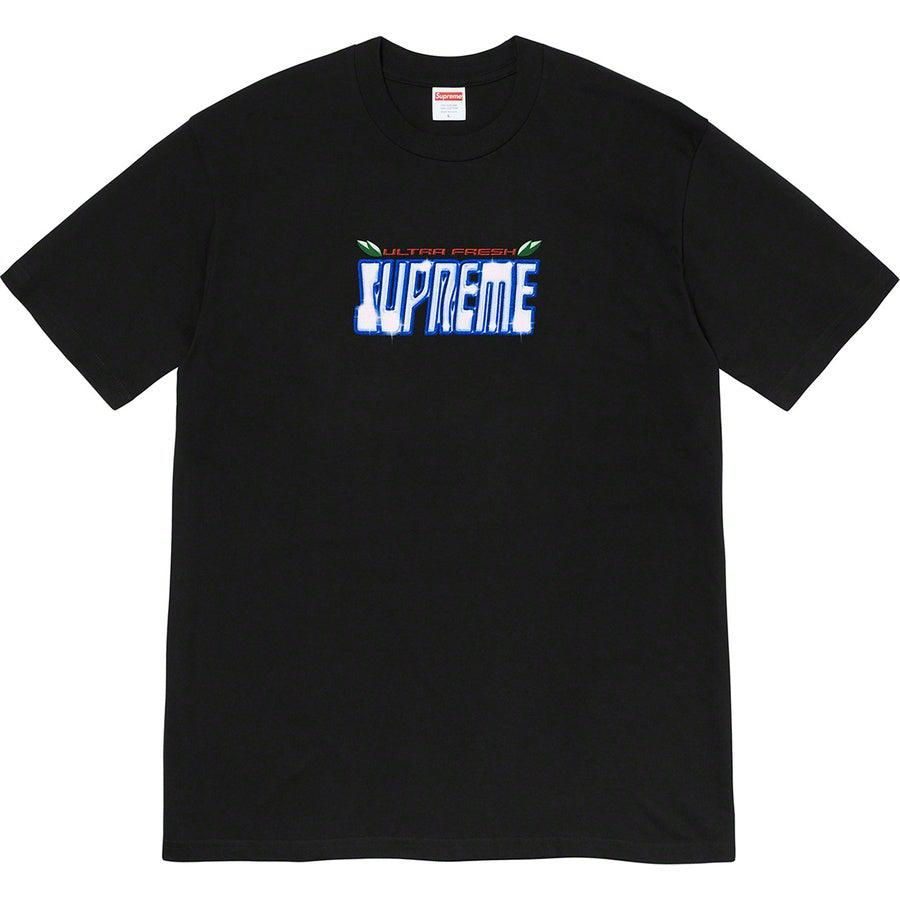 Supreme Ultrafresh Tee (Black) | Waves Never Die | Supreme | T-Shirt