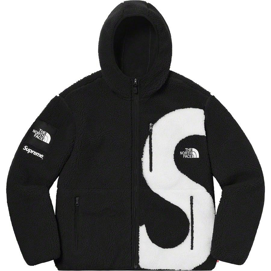 Supreme®/ The North Face® S Logo Hooded Fleece Jacket (Black) | Waves Never Die | Supreme | Jacket