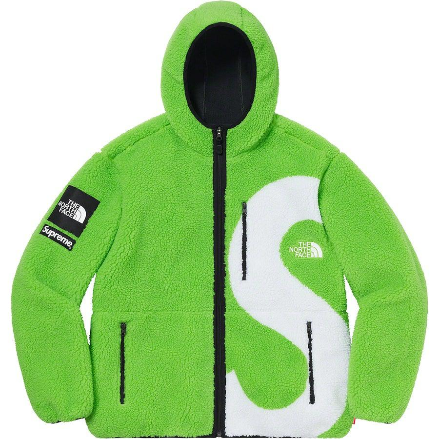 Supreme®/ The North Face® S Logo Hooded Fleece Jacket (Lime) | Waves Never Die | Supreme | Jacket