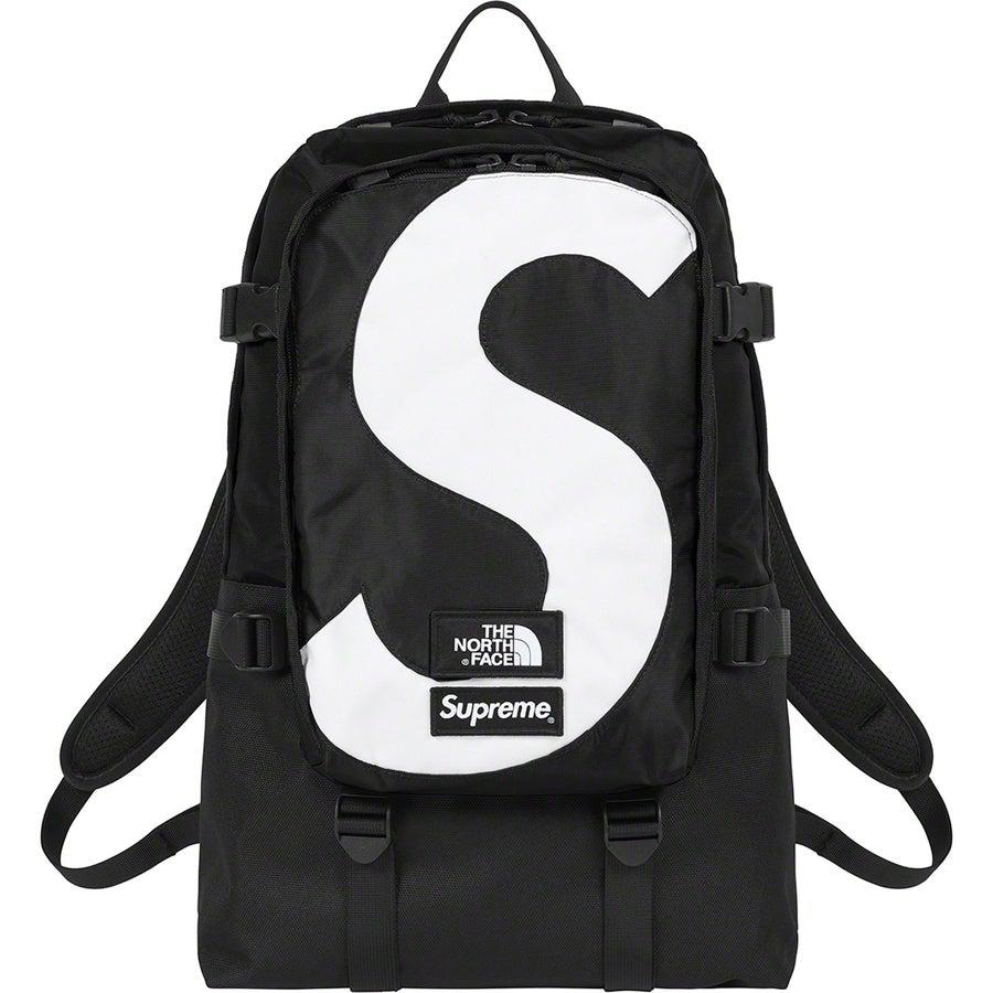 Supreme®/The North Face® S Logo Expedition Backpack (Black) | Waves Never Die | Supreme | Bag
