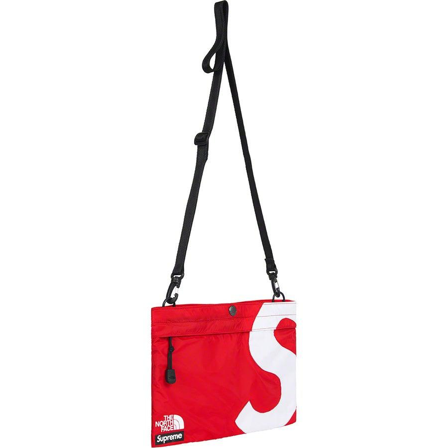 Supreme®/ The North Face® S Logo Shoulder Bag (Red) | Waves Never Die | Supreme | Bag