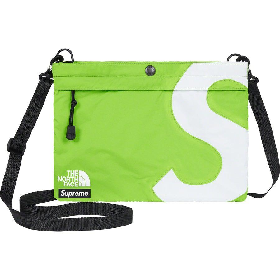 Supreme®/ The North Face® S Logo Shoulder Bag (Lime) | Waves Never Die | Supreme | Bag