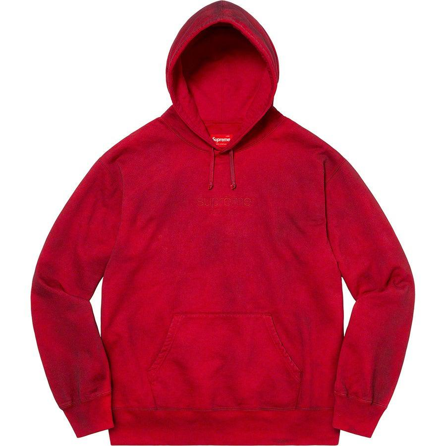 Supreme Spray Hooded Sweatshirt (Red) | Waves Never Die | Supreme | Hoodie