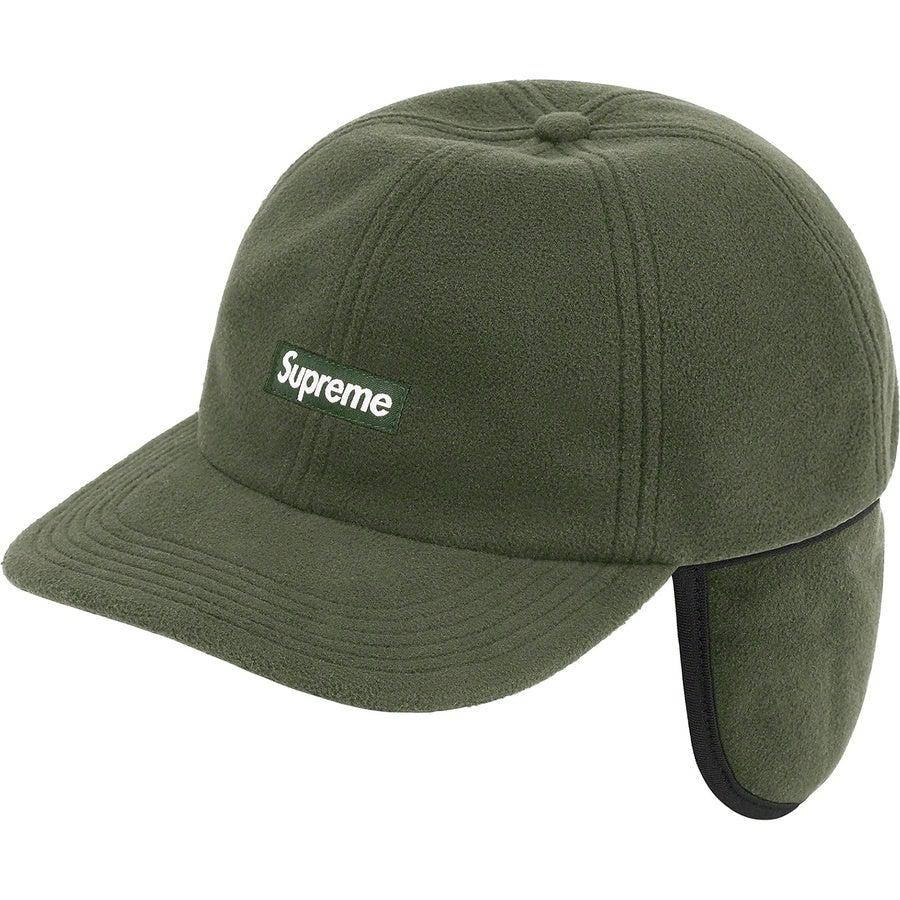 Supreme WINDSTOPPER® Small Box Earflap 6-Panel (Olive) | Waves Never Die | Supreme | Cap