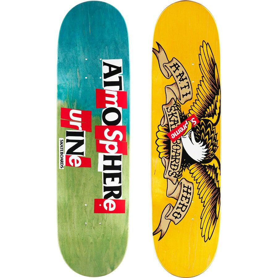Supreme®/ANTIHERO® Skateboard (Multi Green) | Waves Never Die | Supreme | Skate Decks