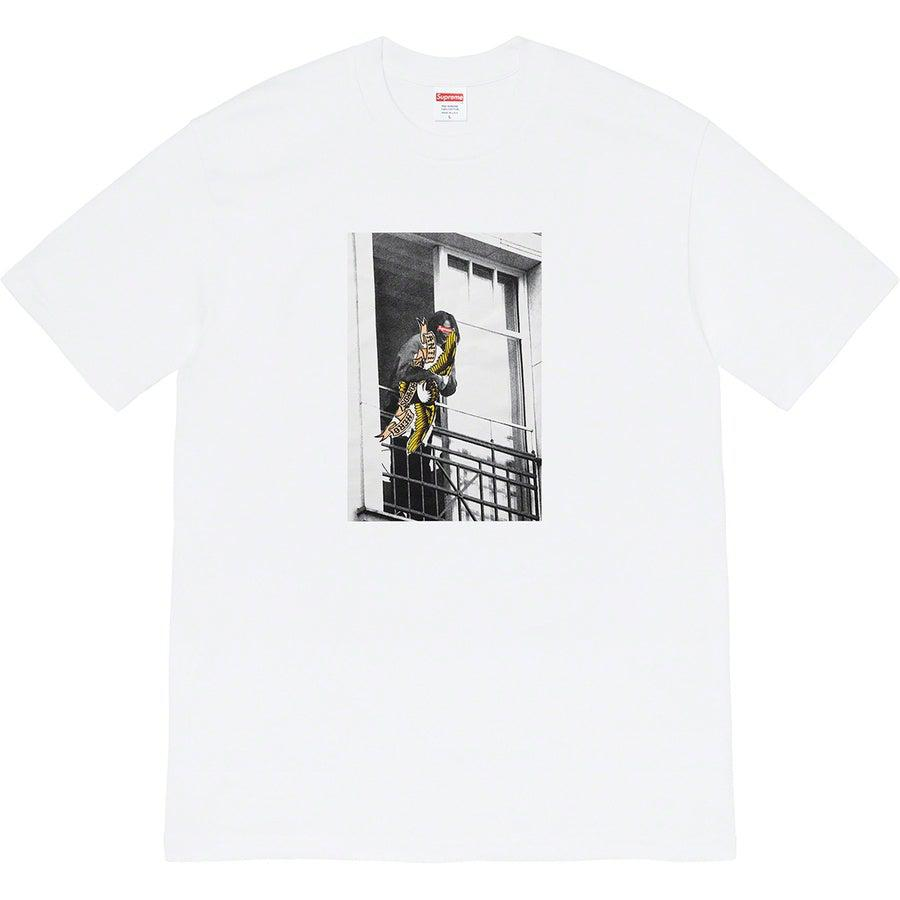 Supreme®/ ANTIHERO® Balcony Tee (White) | Waves Never Die | Supreme | T-Shirt