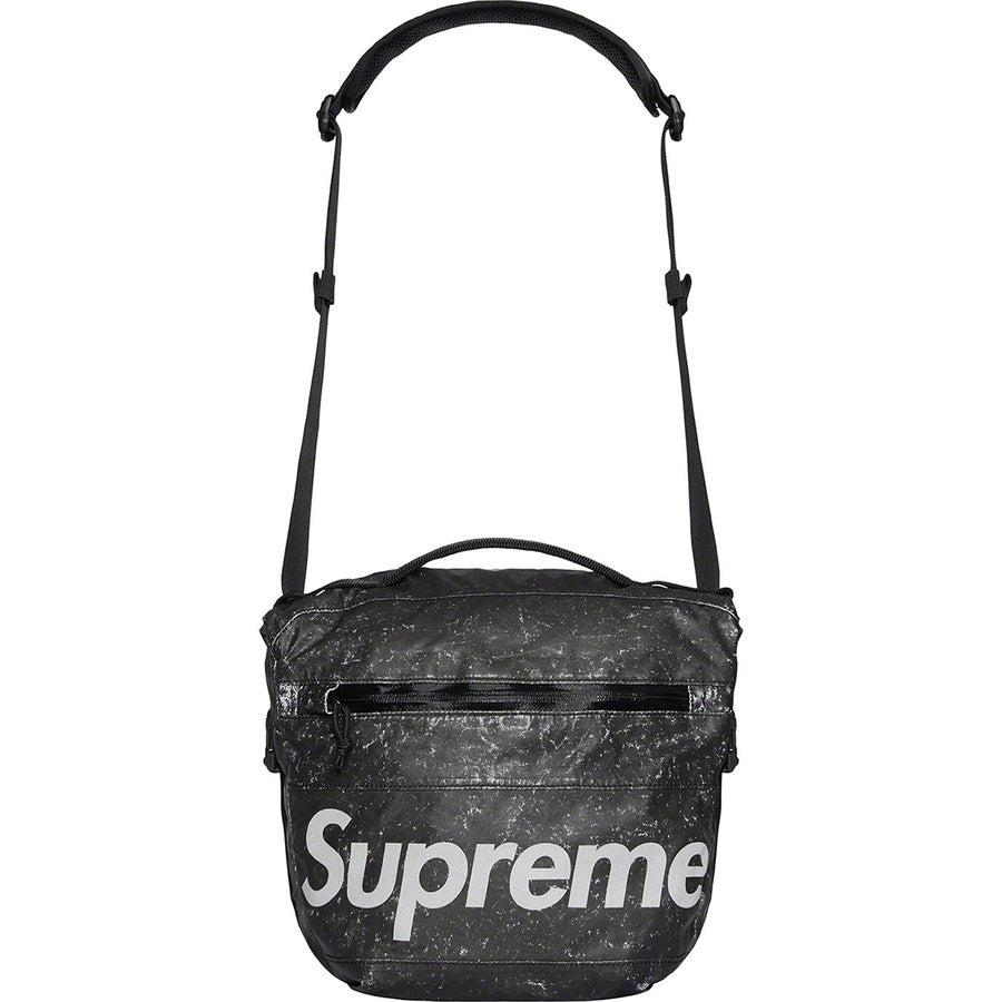 Supreme Waterproof Reflective Speckled Shoulder Bag (Black) | Waves Never Die | Supreme | Bag