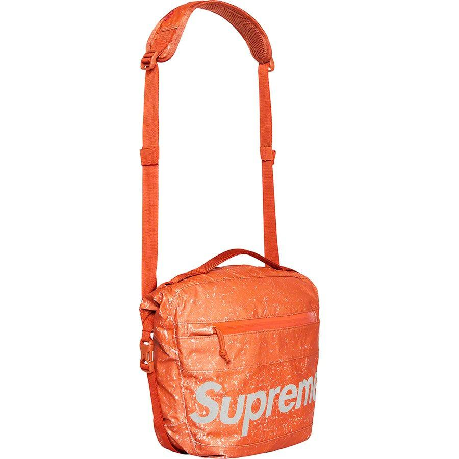 Supreme Waterproof Reflective Speckled Shoulder Bag (Orange) | Waves Never Die | Supreme | Bag