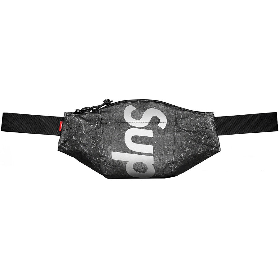 Supreme Waterproof Reflective Speckled Waist Bag (Black) | Waves Never Die | Supreme | Bag