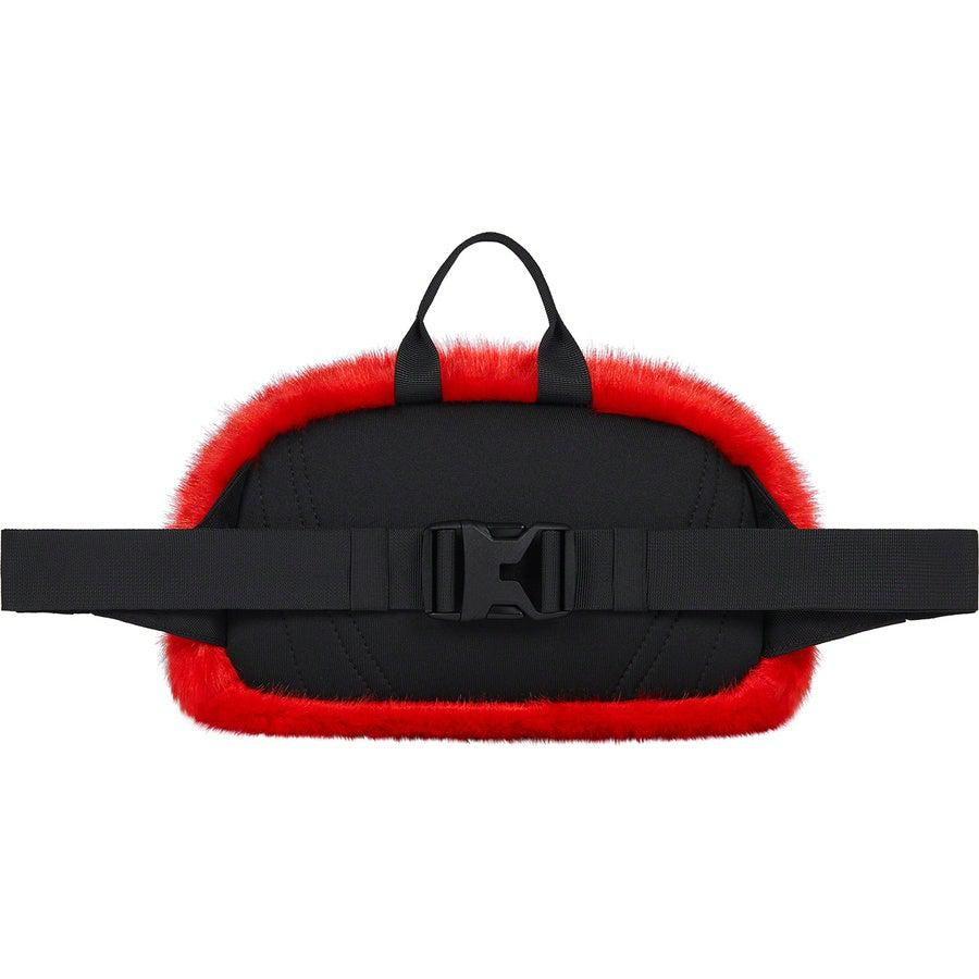 Supreme®/The North Face® Faux Fur Waist Bag (Red) | Waves Never Die | Supreme | Bag