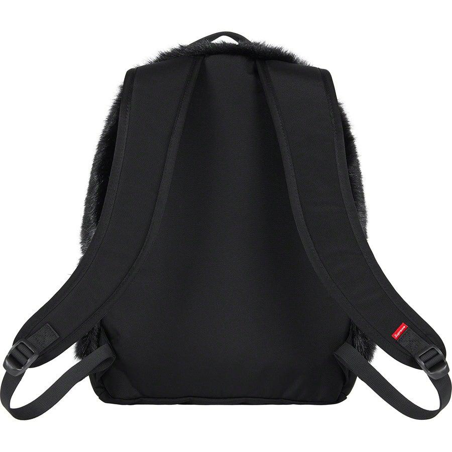 Supreme®/The North Face® Faux Fur Backpack (Black) | Waves Never Die | Supreme | Bag