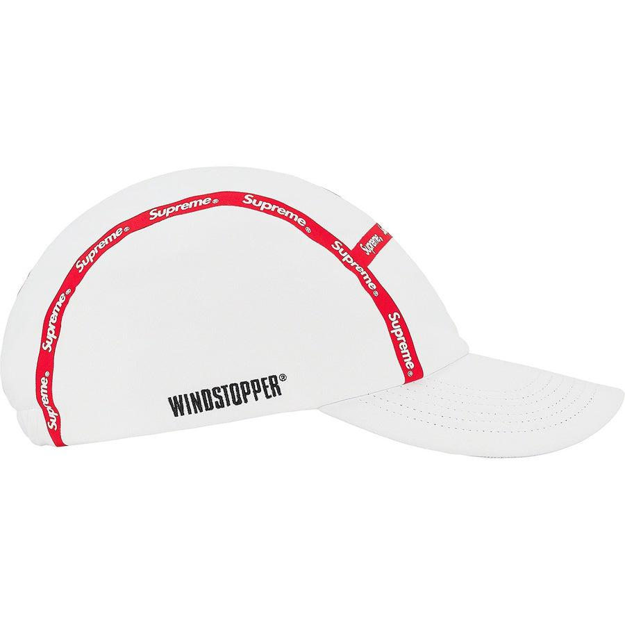 Supreme Taped Seam WINDSTOPPER® Camp Cap (White) | Waves Never Die | Supreme | Hat
