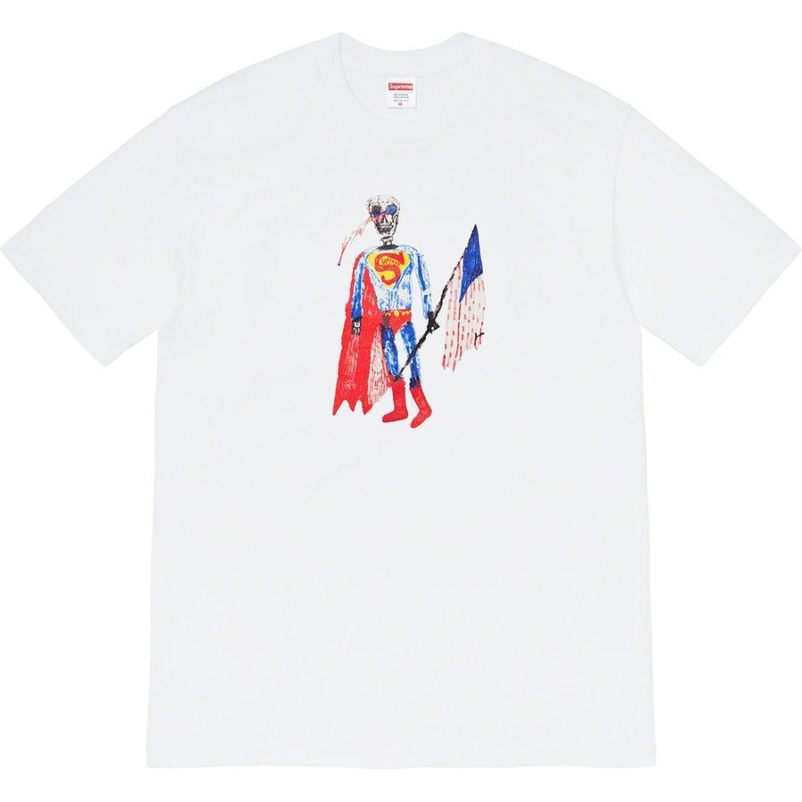Supreme Skeleton Tee (White) | Waves Never Die | Supreme | T-Shirt