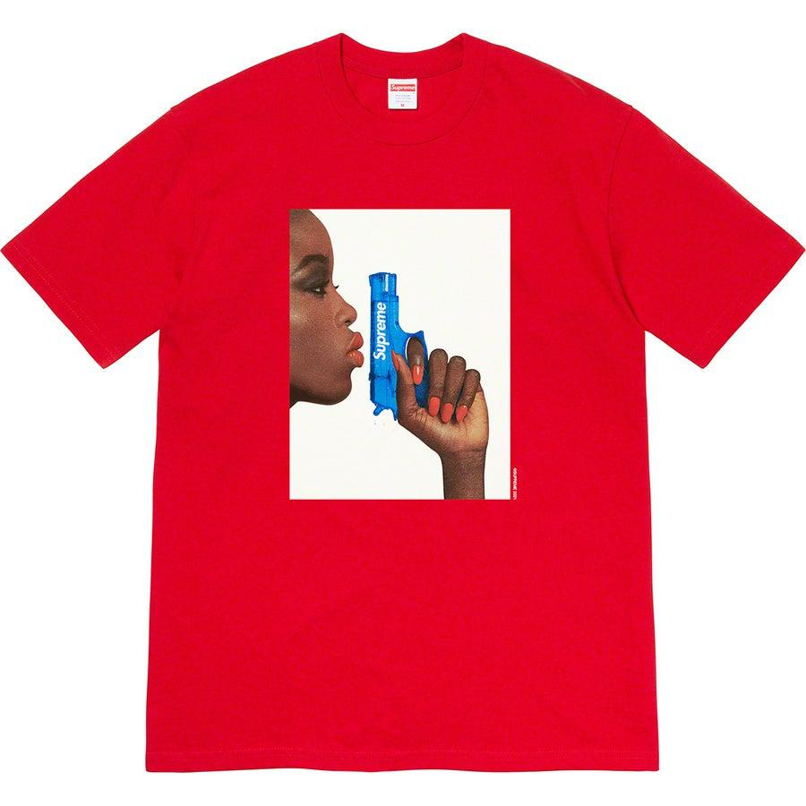 Supreme Pistol Tee (Red) | Waves Never Die | Supreme | T-Shirt