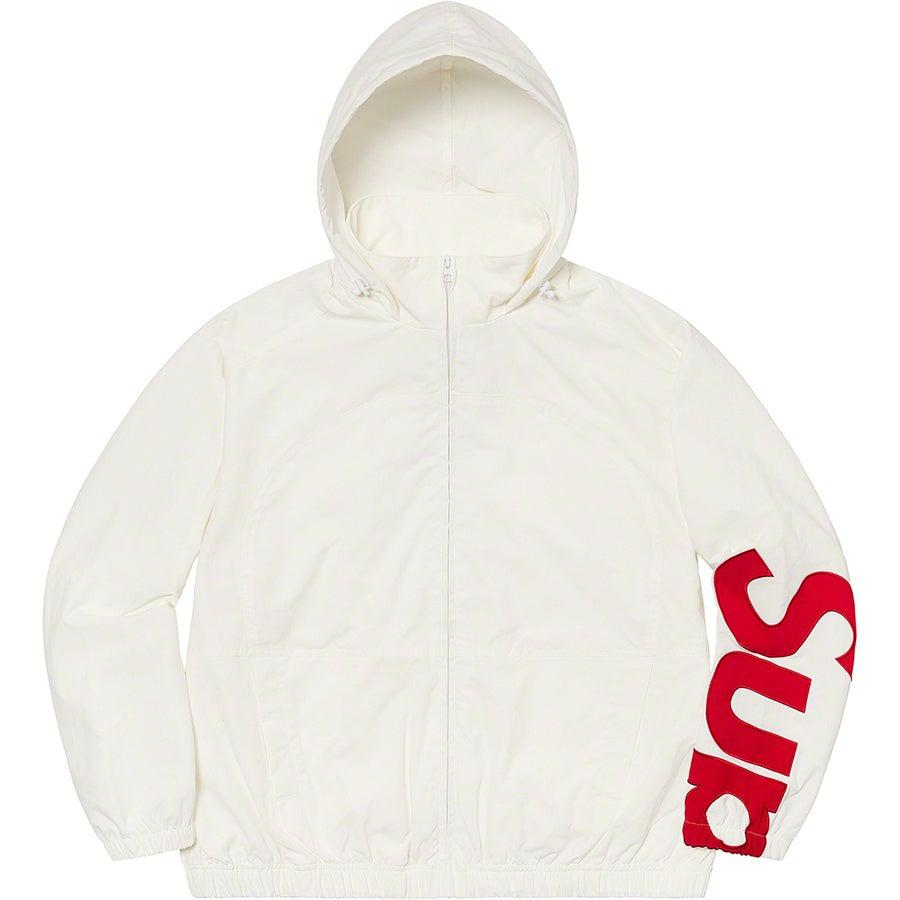 Supreme Spellout Track Jacket (White) | Waves Never Die | Supreme | Jacket