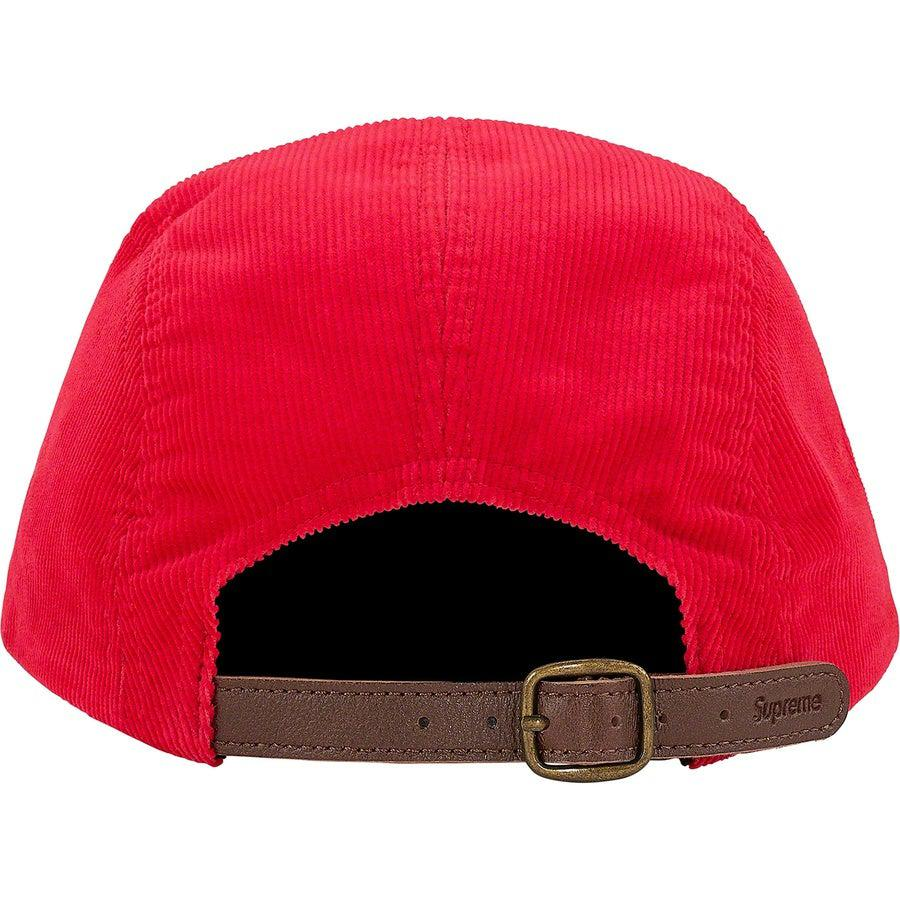 Supreme Fine Wale Corduroy Camp Cap (Red) | Waves Never Die | Supreme | Cap