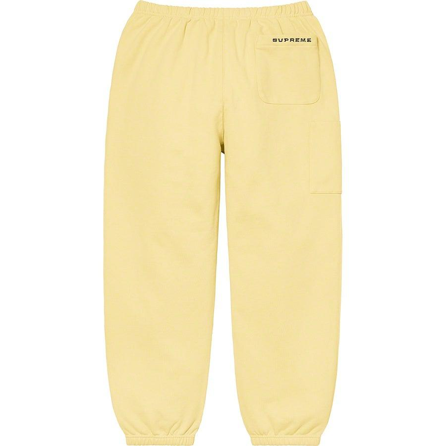 Supreme®/ Nike® Cargo Sweatpant (Yellow) | Waves Never Die | Supreme | Pants