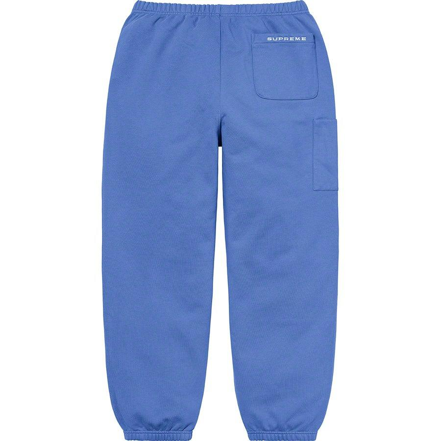 Supreme®/ Nike® Cargo Sweatpant (Blue) | Waves Never Die | Supreme | Pants