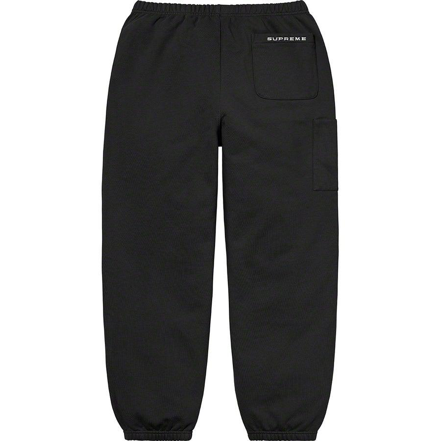 Supreme®/ Nike® Cargo Sweatpant (Black) | Waves Never Die | Supreme | Pants