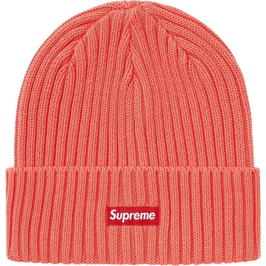 Supreme Overdyed Beanie (Coral) | Waves Never Die | Supreme | Beanie