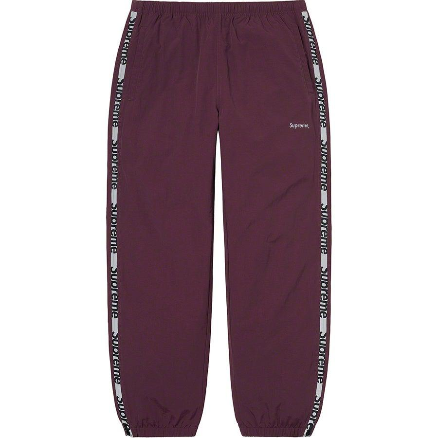 Supreme Reflective Zip Track Pant (Purple) | Waves Never Die | Supreme | Pants
