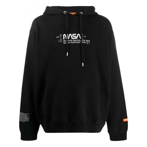 Heron Preston Black Manual Hoodie