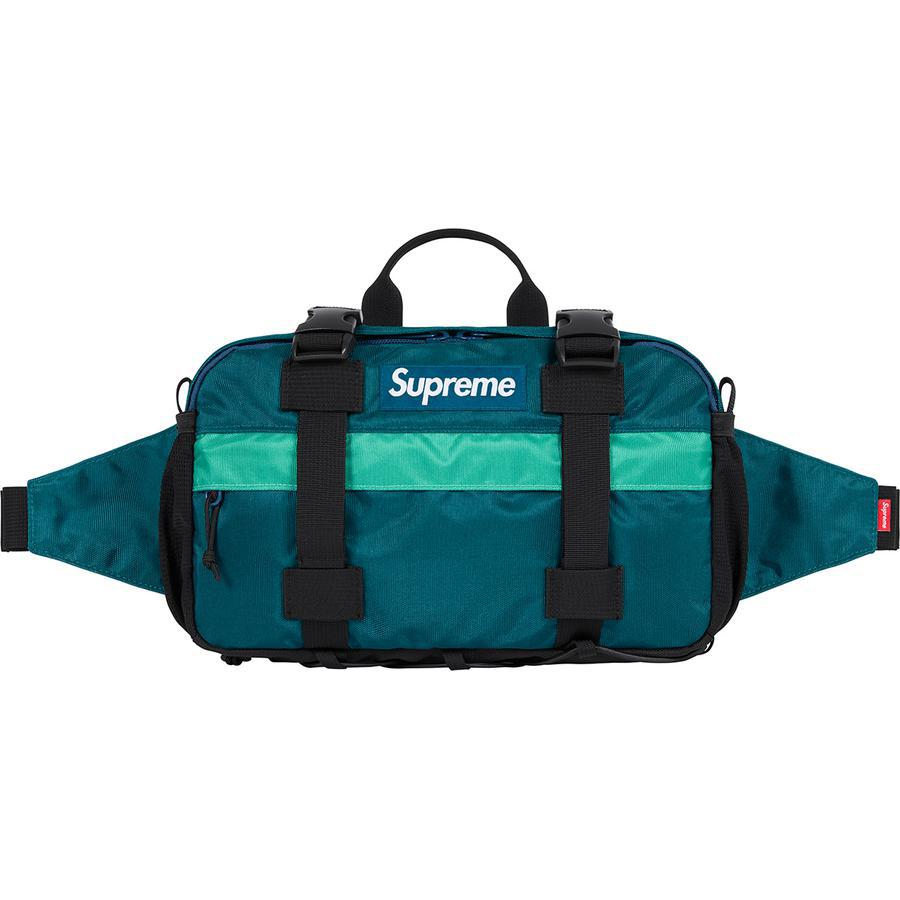 Supreme Waist Bag (Teal) | Waves Never Die | Waves Never Die