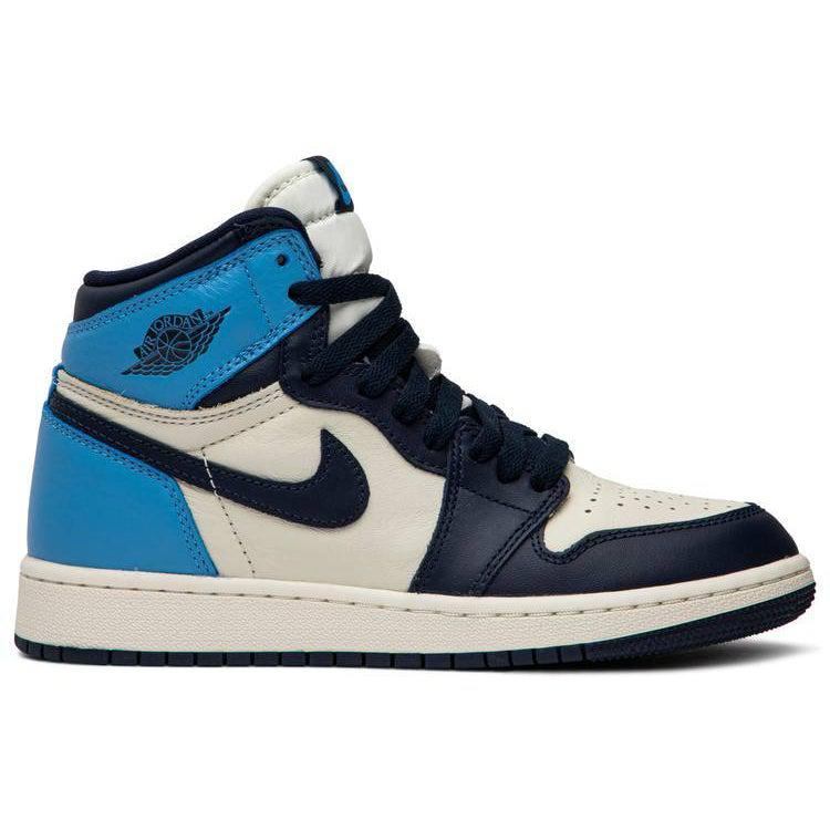 Nike Air Jordan 1 Retro High OG GS 'Obsidian' | Waves Never Die | Nike | Sneakers